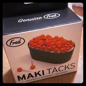 Fred 'Maki Tacks'